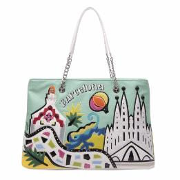 CARTOLINE BARCELLONA SHOPPING BAG B10212-YY